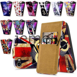 2015 New Phone Case Printed Flip PU Leather Case for Wiko Lenny Cover