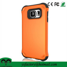 factory price high quality pc+tpu one plus one case cover for samsung galaxy s6