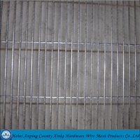 Galvanized 358 high security fence for prison / 358 security fence