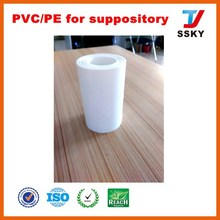 Food Packaging manufacturer PVC/PE Film for suppository packing