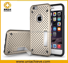For iPhone 6S Case, Thinness heat dissipation Net / Mesh Design Case [ Breathing Series ] for iPhone 6S