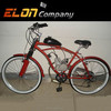 26 tyre 80cc city road gas electric motorcycle