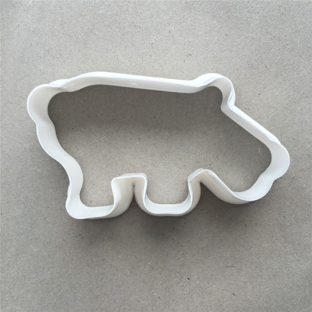 Elephant Cutter For Cake Decorating : 6pcs Cookie Biscuit Cutter ELEPHANT BEAR HEART STAR HIPPO ...
