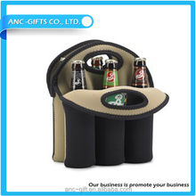 High quality neoprene 6 pack can cooler bag different size and style customized