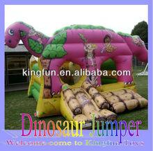 Dinosaur inflatable jumper