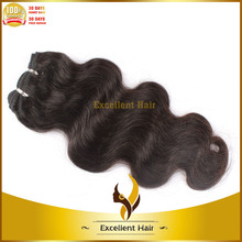 100% unprocessed one donor real tangle free body wave pro hair extension