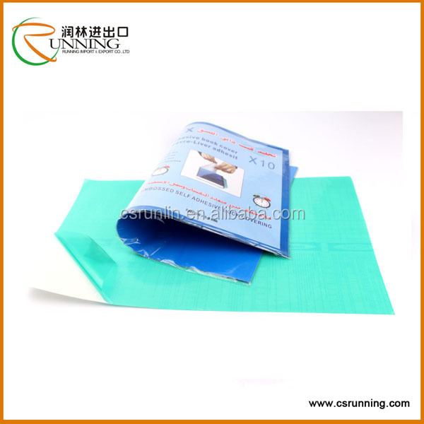 Adhesive Book Cover Paper : Stationary supplier contact paper for notebook transparent