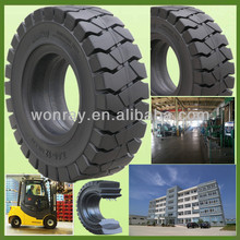 Low Sea Freight Industrial Solid Rubber Tyres 650 10 For Forklift