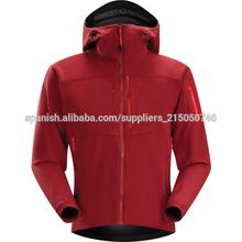 Garment Fabricante Red para el invierno Chaqueta