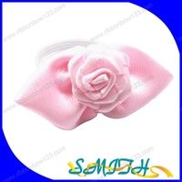 MSD Nail polish bottle ribbon bow,ribbon bow tie,mini ribbon flower