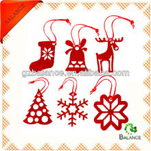 Trade Assurance New style christmas hanging decoration/christmas crafts/felt decoration