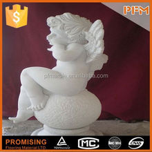 2014 PFM hot sale natural marble made hand carved buddha head statue
