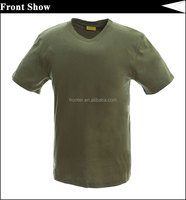 Cheap Wholesale Camo T Shirt Green Printing Camouflage T Shirt