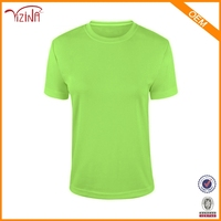 Clothing Manufacturer Wholesale 100% Polyester Sportswear Dri Fit Men Blank T Shirts