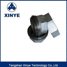 China made first malleable cast iron pipe fittings, union