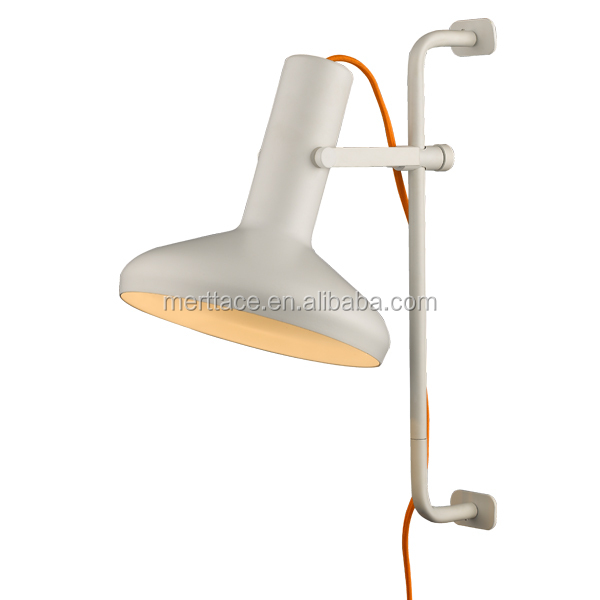 lamps wall lamp with electrical cord for hotel. Black Bedroom Furniture Sets. Home Design Ideas