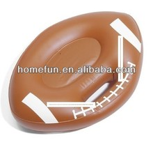 PVC inflatable american fooball/soccer cushion/mat for brand promotion in 2014