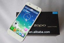 2014 Hot sales 13mp 1920*1080 pixels dual camera eight core smartphone zopo 980 android mobile 3g