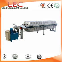 program logic controlled Cast Iron Hydraulic plate and frame Filter Press