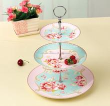hot sale high quality round shape white color porcelain fruit plate