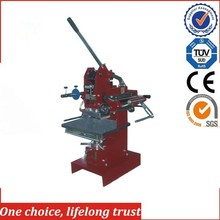 TJ-1E Moving worktable manual hot stamping machine and die cutting machine