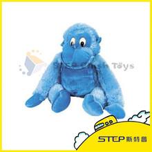 OEM Low Price Monkey Blue Monkey Stuffed Plush Toy