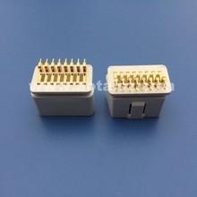wholesaler price OBDII connector obd2 plug obd interface for vehicle