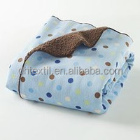 Customized Soft Touch Warming Blanket For Babies