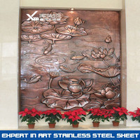 304 bronze stainless steel wall reliefs