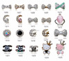 New arrival rhinestone 3d nail art decoration bow tie/salon of beauty