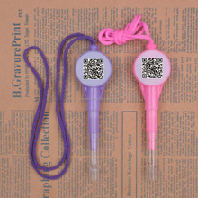 Hot Selling Plastic String Pen With Qr Code Print