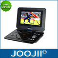 Nuevo 2014 9.5-16 pulgadas reproductor de dvd portátil con sintonizador de tv digital