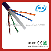 Factory Direct Sale High Quality 4 pair Cat6 UTP Lan Cable With CE RoHS