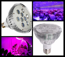21W LED GROW LIGHT E27 4Red 3Blue LED Grow Lamps For Flowering Plant And Hydroponics System AC85-265V d302