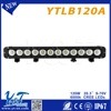single row Color White 120W led Police Emergency Vehicl Clear Dome Mini LED Light Bar