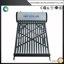 portable low pressure solar energy water heater system price