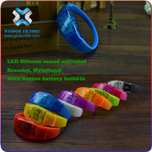 2015 Favorable Toy Light Bracelet Manufacture For Brand Promotional Gifts,sound activated led bracelet