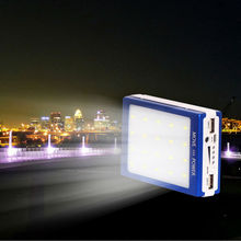 2015 New Design High Quality Portable Mobile Solar Power Bank&solar charger