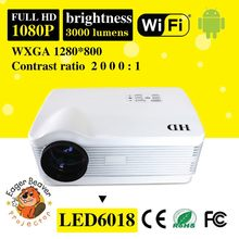 Environmental led projector made in China trade assurance supply excellent led projector exterior led projector