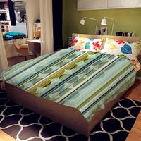Super Soft Warm Cozy Blanket Simple Fashion Vertical stripes style comfort printing blanket MT1001
