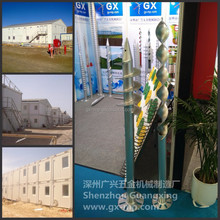 Temporary Building, Camp and Construction & Office containers Foundation Ground Screw