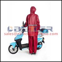 Rubber factory direct sale motorcycle raining suit