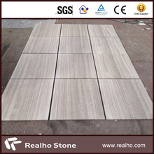 chinese white wooden marble tiles