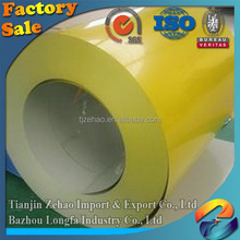 Prime quality Prepainted Galvanized Colored PPGI / SGCC Color Coated Steel Coil