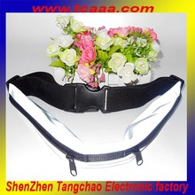wholesale manufacturing unisex waist bag belt running waist pack