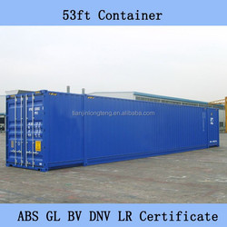 53ft HC Pallet Wide shipping container from china to long beach