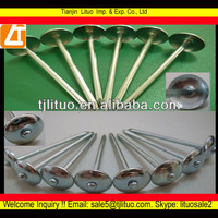 galvanized umbrella roofing nails with rubber washer factory