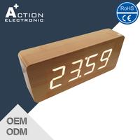 Discount Quick Lead Travel Alarm Clock With Led Flashlight
