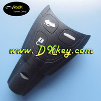 Good price smart key shell with 4 soft button for saab car key cover