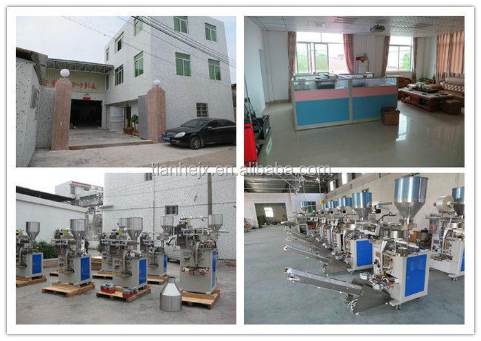 China Manufacturer Set Optical Fault Sachet Packaging Machine